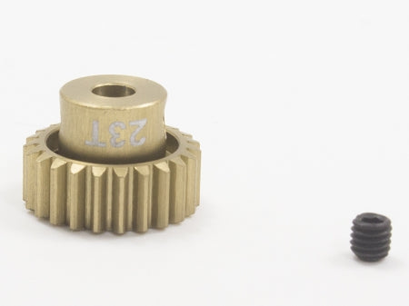 Trinity - Lightweight Aluminum Pinion Gear, 48 Pitch, 23 Tooth