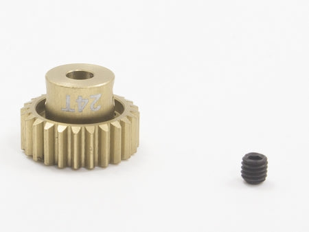 Trinity - Lightweight Aluminum Pinion Gear, 48 Pitch, 24 Tooth