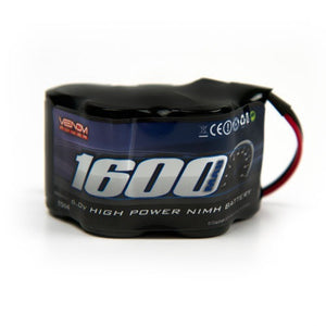 Venom - 6V 1600mAh 5-Cell Hump Receiver NiMH Battery - The R/C House