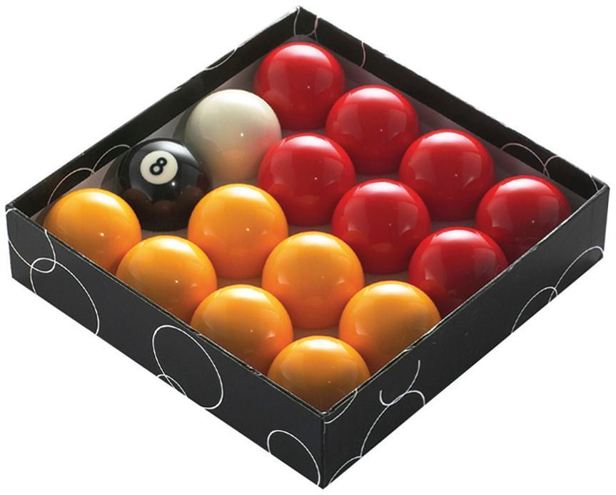 Powerglide Pool Ball Red/Yellow