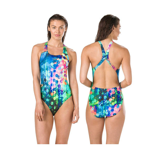 Speedo FlareFlash Powerback Swimsuit