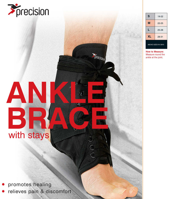 Precision Neoprene Ankle Brace with Stays - Sold Individually