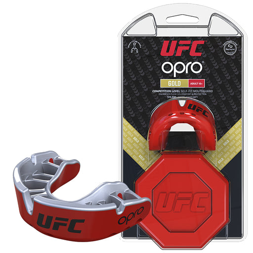 UFC Gold Mouthguard by Opro