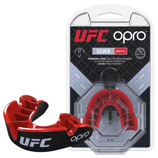 UFC Silver Mouthguard by Opro