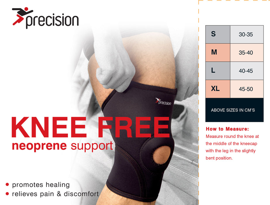 Precision Neoprene Knee Free Support - Sold Individually