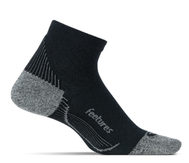 Feetures Plantar Fasciitis Relief Sock Light Cushion Quarter