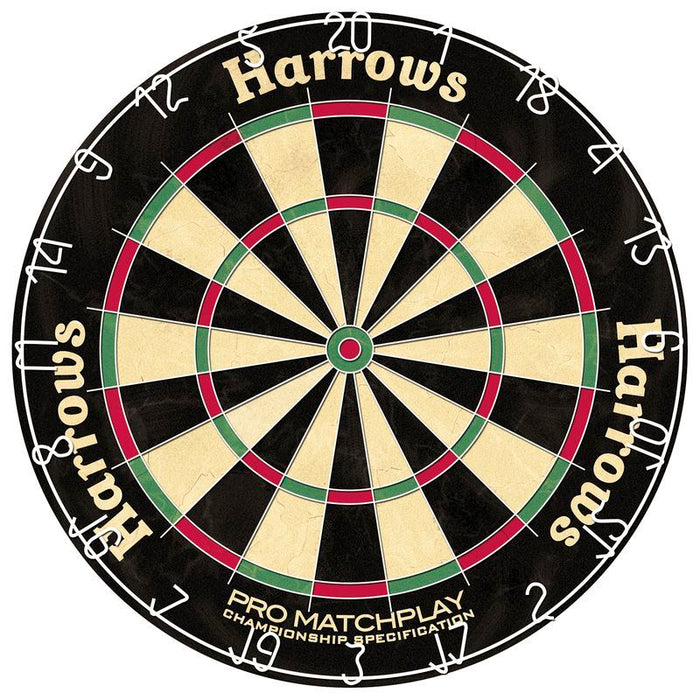 Harrows Matchplay Bristle Dart Board