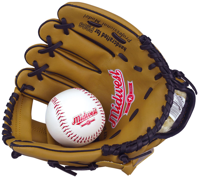Midwest Junior Baseball Glove & Ball Set