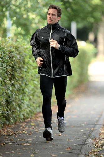 Precision Running Fitness Rain Jacket Mens