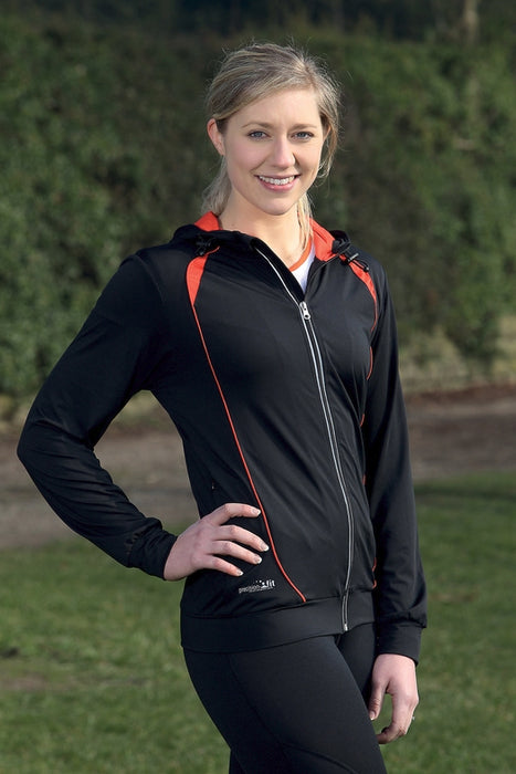 Precision Ladies Fitness Running Hoodie