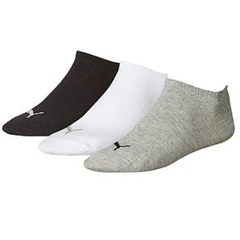 Puma Sneaker Invisible Socks (3 Pairs)