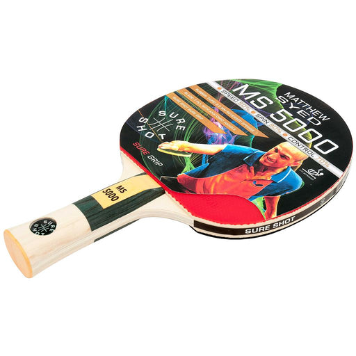 Sure Shot Matthew Syed 5000 2mm ITTF Reversed Rubber Table Tennis Bat