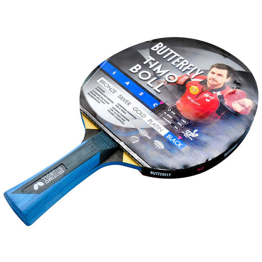 Butterfly Timo Boll Black - Wakaba 2mm Table Tennis Bat