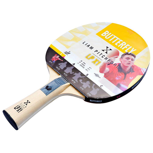 Butterfly Liam Pitchford Addoy 1.5mm Ergo Grip Table Tennis Bat