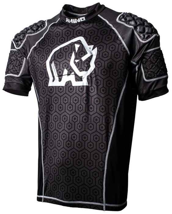 Rhino Pro Body Protection Top Black - Sold Individually