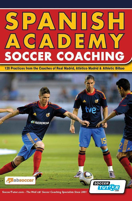 SoccerTutor Spanish Academy Soccer Coaching (120 practices) Book