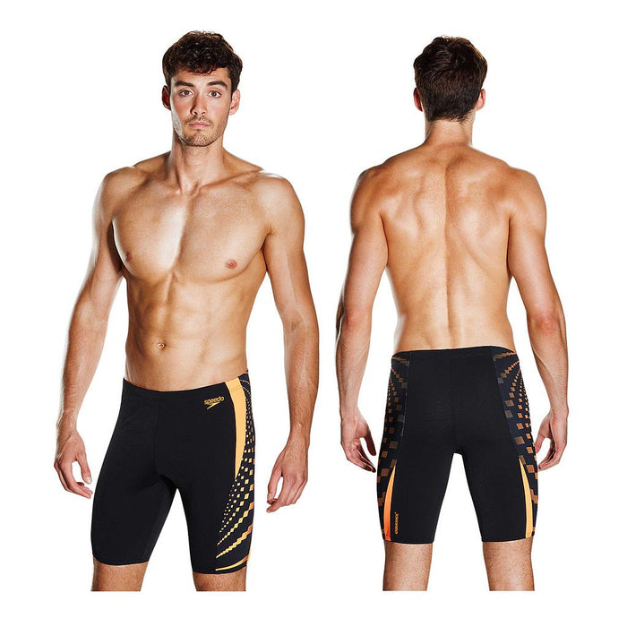 Speedo Mens Graphic Splice Jammer Shorts  - Sold Individually