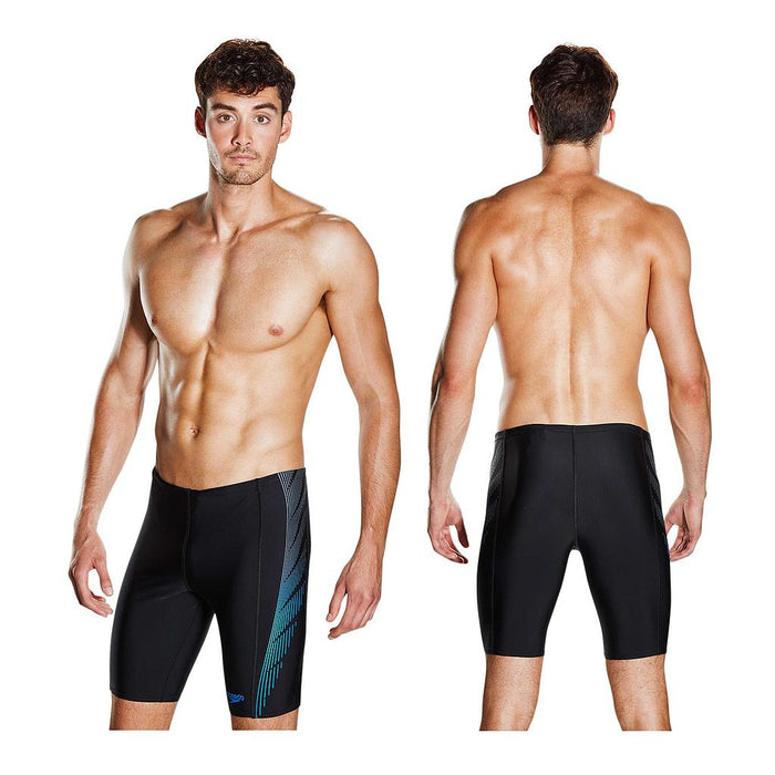 Speedo Mens Placement Panel Jammer Shorts  - Sold Individually