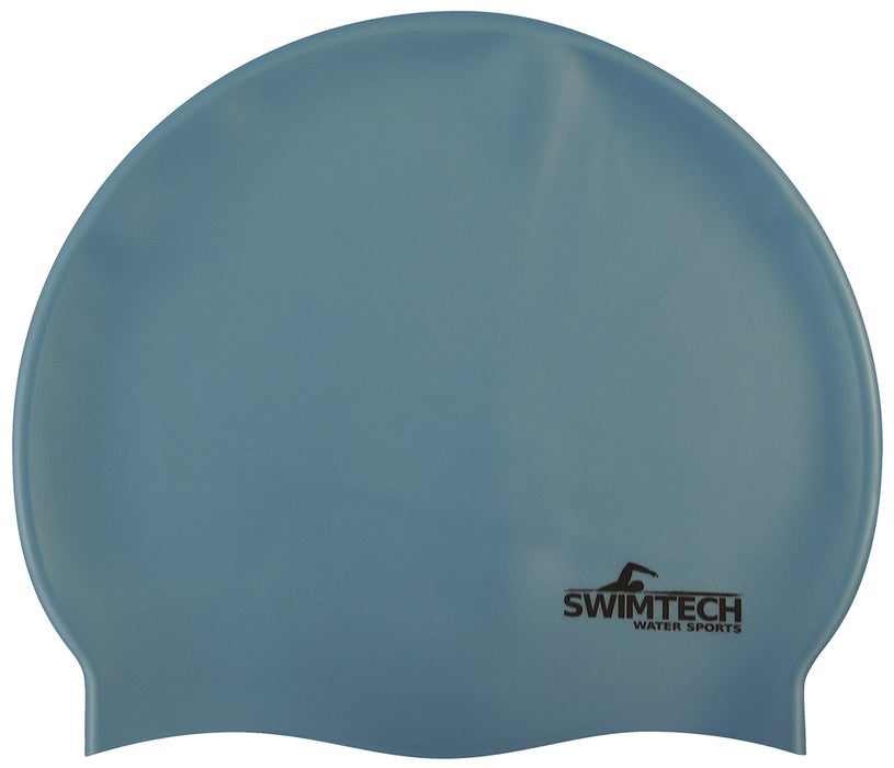 SwimTech Silicone Swim Caps Adult