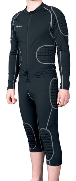 "Precision Padded 3/4 ""All in one"" Goalkeeping Suit Adult"