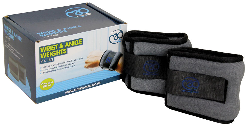 Yoga-Mad Wrist & Ankle Weights