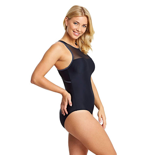 Zoggs Hydrolife Sacred Craft Mesh Hi Front Swimsuit