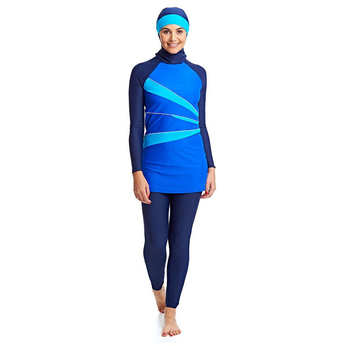 Zoggs Hydrolife Aqua Reef Modesty Swimsuit - Sold Individually