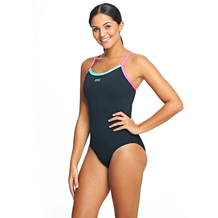 Zoggs Aqualast Cannon Strikeback Swimsuit - Sold Individually