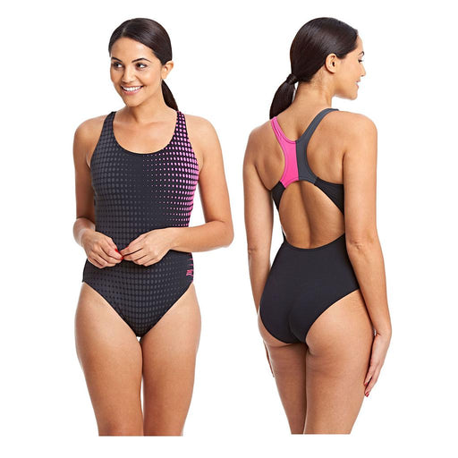Zoggs Aqualast Bridge Actionback Swimsuit