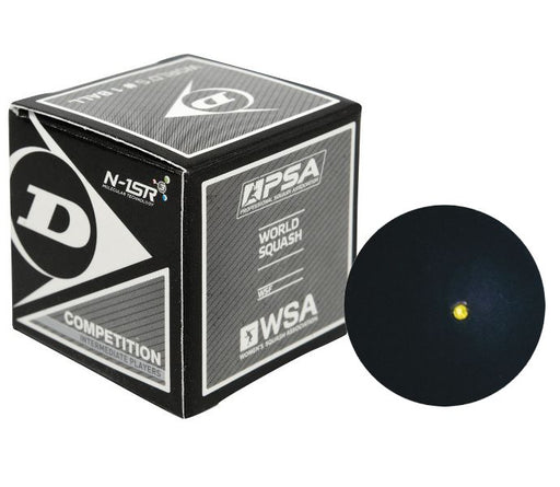 Dunlop Competition Squash Ball - 3 Balls