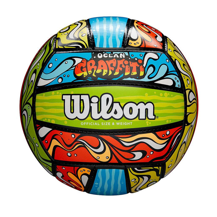 Wilson Ocean Graffiti Volleyball - Sold Individually