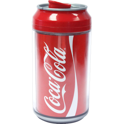 Cool Gear Coke Cola Can 12oz - Red