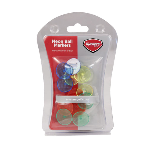 Masters Neon Ball Markers (Pack of 12)