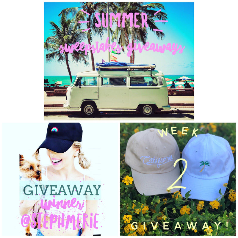 Summer Sweepstakes Giveaways!