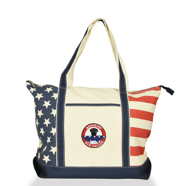 embroidery tote bag dalix ST-054-USA