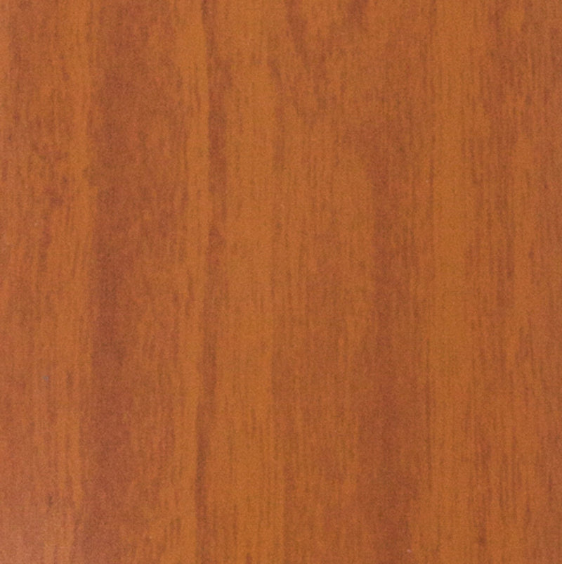 DALIX Wood Grain Vinyl Vertical Window Blinds Replacements Pecan 5 Pack Blinds DALIX