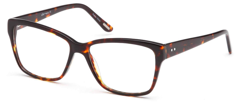 DALIX Womens Square Glasses Frames Prescription Eyeglasses 54-17-142 Eyewear DALIX Tortoise