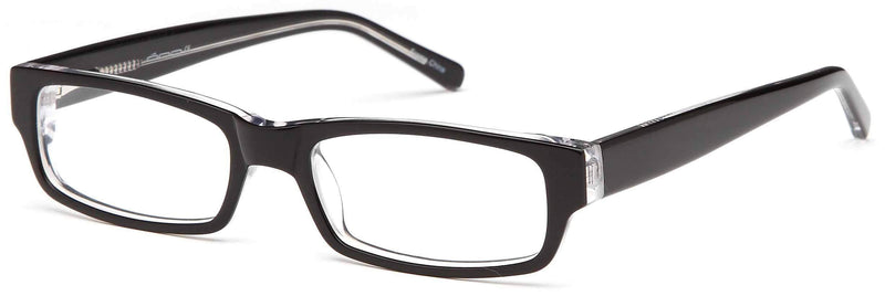 Trendy Prescription Glasses Frames Rxable Eyewear DALIX Black Crystal