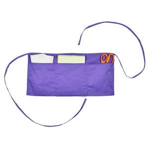 Waist Aprons Commercial Restaurant Home Bib Spun Poly Cotton Kitchen (3 Pockets)
