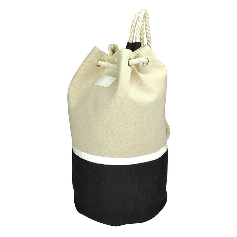 DALIX Cotton Canvas Drawstring Backpack