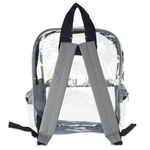 DALIX Large Clear Backpack