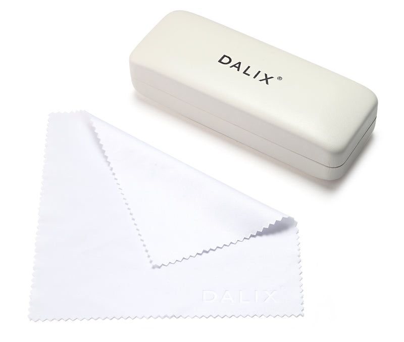 WHITE DALIX GLASSES CASES Eyewear DALIX