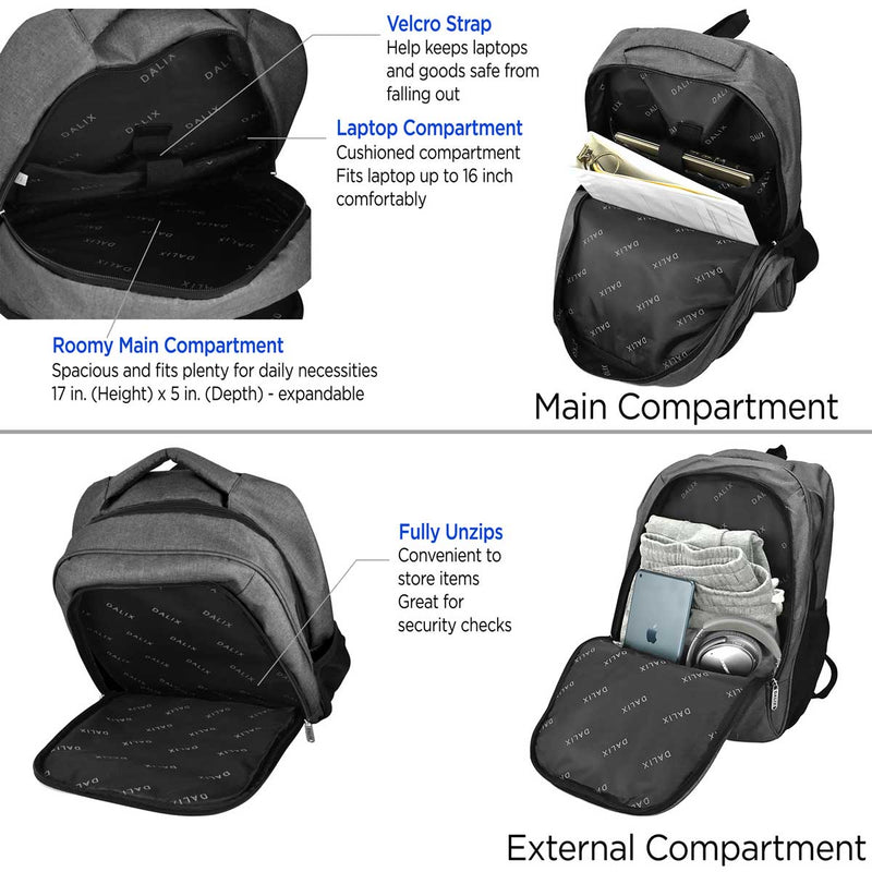 DALIX Extra Large Backpack