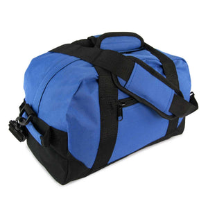 "DALIX 14"" Small Duffel Bag Two Toned Gym Travel Bag"