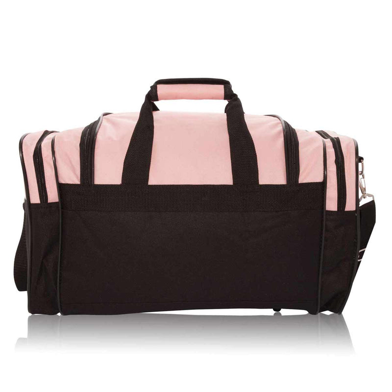 DALIX Ballet Shoes Dance Duffle Bag Embroidered Travel Gym Duffel
