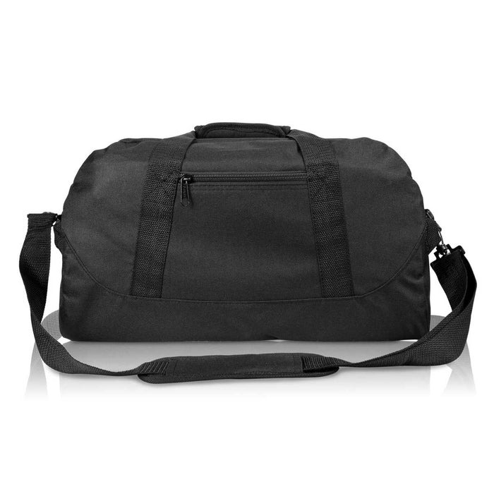 "DALIX 18"" Duffel Bag Two-Tone Sports Travel Gym Luggage Bag"