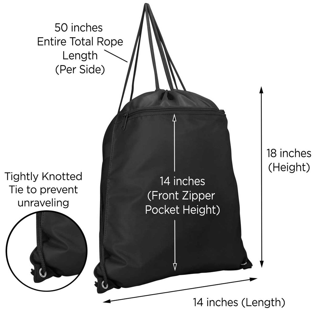 DALIX Drawstring Backpack