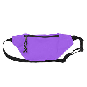DALIX Fanny Pack w/ 3 Pockets Traveling Concealment Pouch Airport Money Bag FP-001 Fanny Packs DALIX