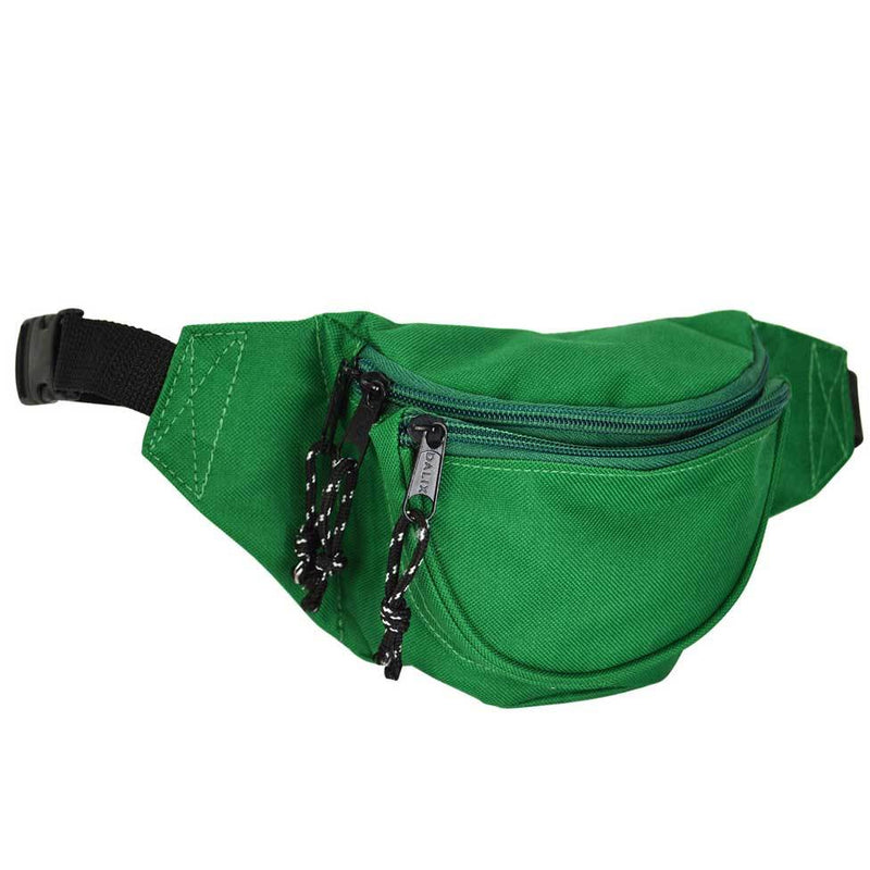 "DALIX Small Fanny Pack Waist Pouch Travel Belt (24""-31"") Fanny Packs DALIX Dark Green"