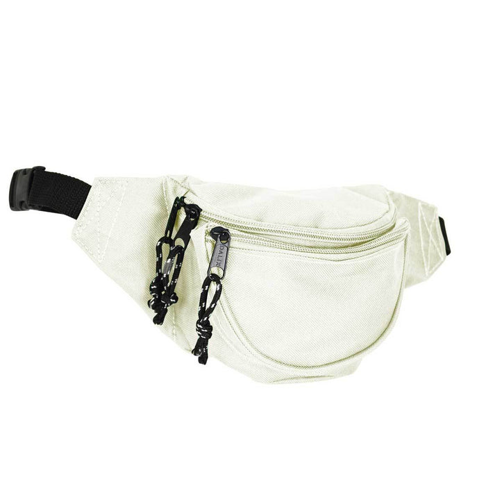 "DALIX Small Fanny Pack Waist Pouch Travel Belt (24""-31"") Fanny Packs DALIX Nude"